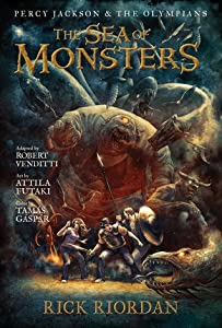 The Sea of Monsters: The Graphic Novel (Percy Jackson and the Olympians: The Graphic Novels, #2)