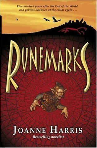 "Book cover of ""Runemarks"" by Joanne Harris"