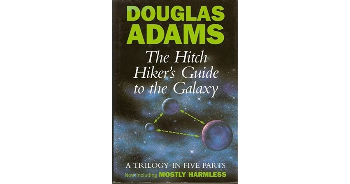 the main features of hitch hikers guide to the galaxy