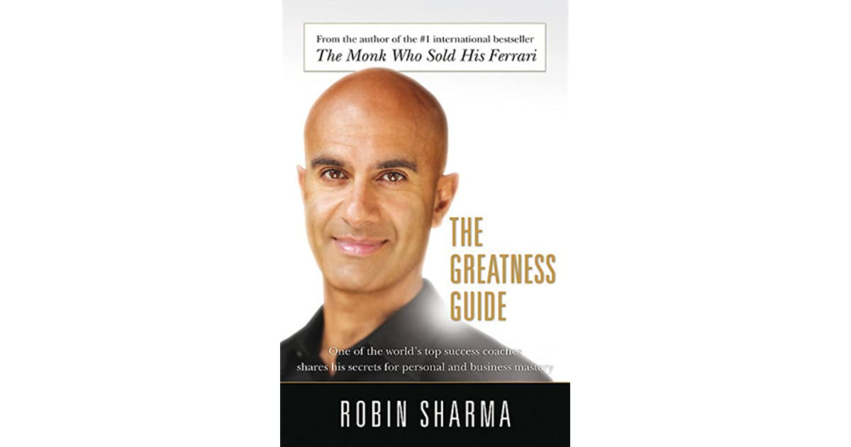 robin sharma greatness guide quotes