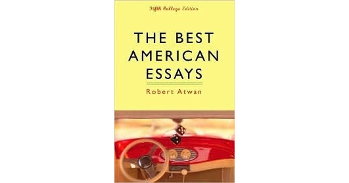best american essays 2013 ebook A collection of the years best essays culled from periodicals editor: atwan, robert editor: strayed, cheryl publisher: mariner download.