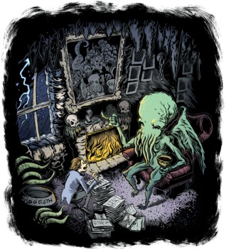 I, Cthulhu, or, What's a Tentacle-Faced Thing Like Me Doing i... by Neil Gaiman