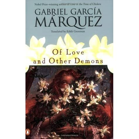 a book report on gabriel garcia marquezs of love and other demons Garcia marquez's of love and other demons explores the boundaries between los angeles times book review gabriel garcía márquez love in the time of.