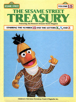 The Sesame Street Treasury, Volume 15: Starring The Number 15 and the Letters X, Y, and Z