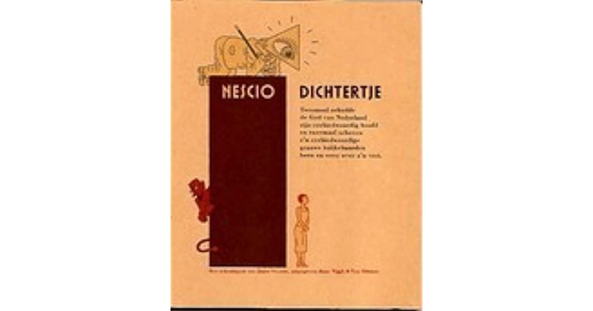 DICHTERTJE NESCIO PDF