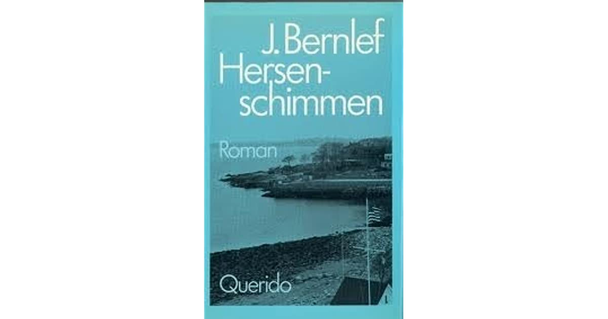 Hersenschimmen By J Bernlef