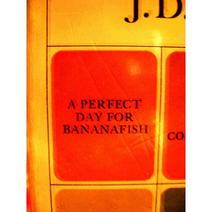 "an analysis of the story a perfect day for bananafish by j d salinger Get started paper , order, or assignment requirements write a 1000-word critical interpretation paper about some aspect of the story ""a perfect day for bananafish,"" by j d salinger."