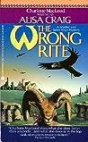 The Wrong Rite (Madoc Rhys #5)