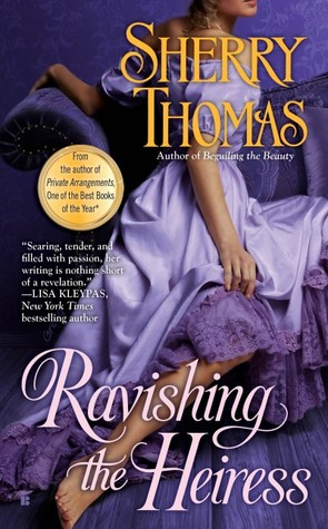 Ravishing the Heiress (Fitzhugh Trilogy, #2)