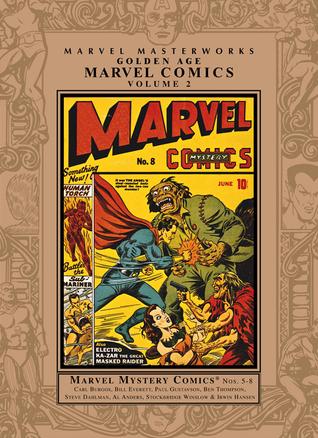 Marvel Masterworks: Golden Age Marvel Comics, Vol. 2