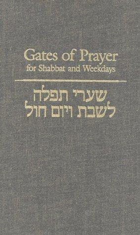 Gates of Prayer for Shabbat and Weekdays: A Gender Sensitive Prayerbook