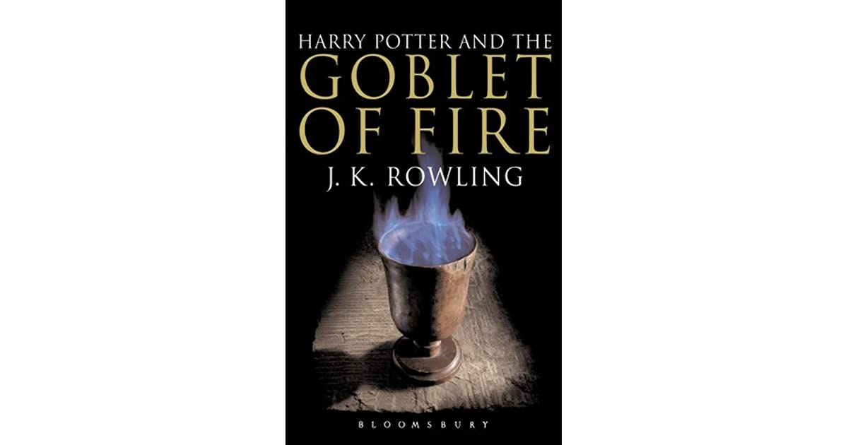 Harry Potter Book Goodreads ~ Harry potter and the goblet of fire by j k rowling