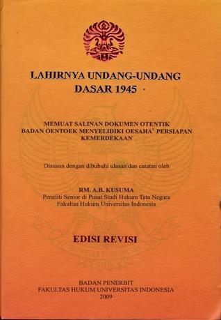 Lahirnya Undang-Undang Dasar 1945