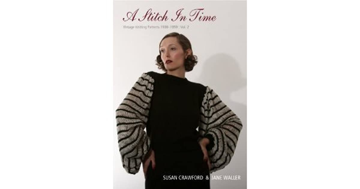 1930/'s Two Piece Lace Dress Vintage Knitting Pattern Copy