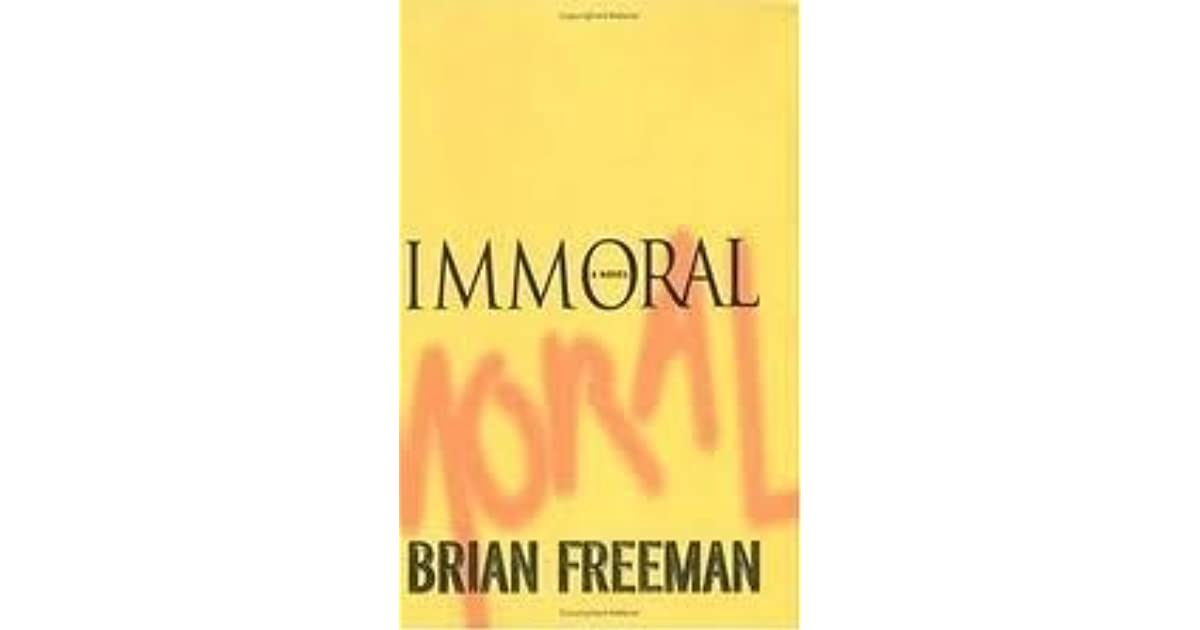 Immoral (Jonathan Stride, #1) by Brian Freeman