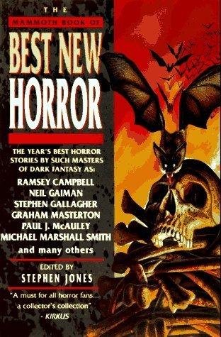 Best New Horror 7 by Stephen              Jones