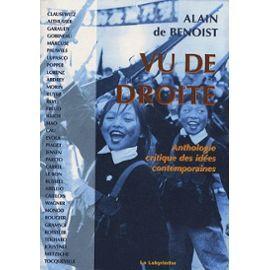 Vu De Droite Anthologie Critique Des Idees Contemporaines By