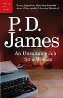 An Unsuitable Job For A Woman (Cordelia Gray, #1)
