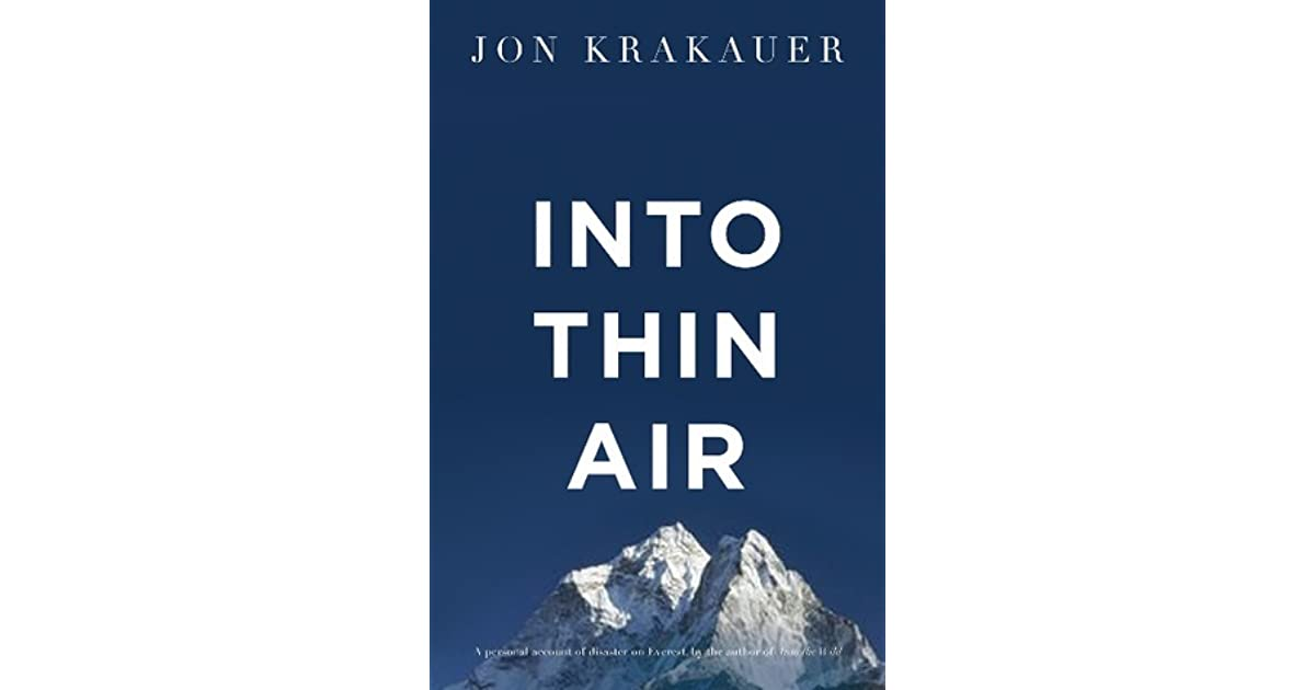 Into Thin Air Quotes and Analysis