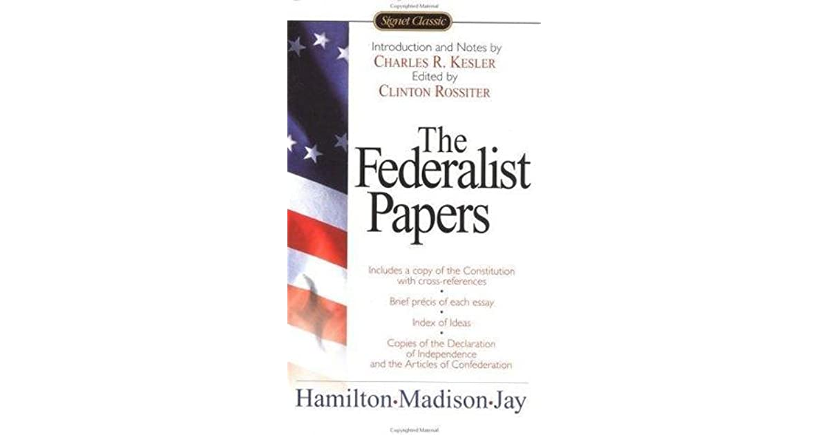 federalist papers help Find great deals on ebay for federalist papers in books about nonfiction shop with confidence.