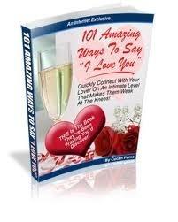 101 amazing ways to say I love you