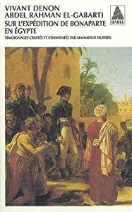 Sur l'expédition de Bonaparte en Égypte