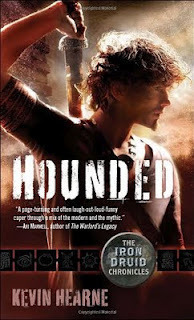 181f2cac4f682 Hounded (The Iron Druid Chronicles, #1) by Kevin Hearne
