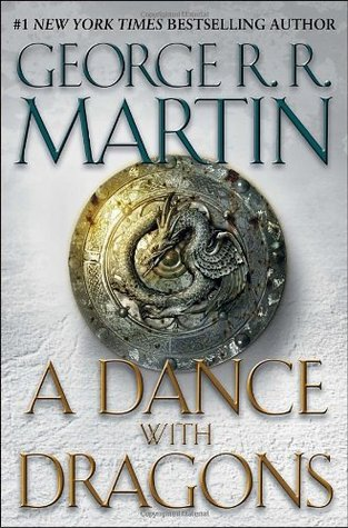 "book cover of ""A Dance with Dragons"" by George R.R. Martin"