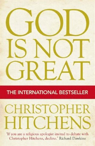 CHRISTOPHER HITCHENS TYPOGRAPHIC POSTER GOD IS NOT GREAT CHRIS
