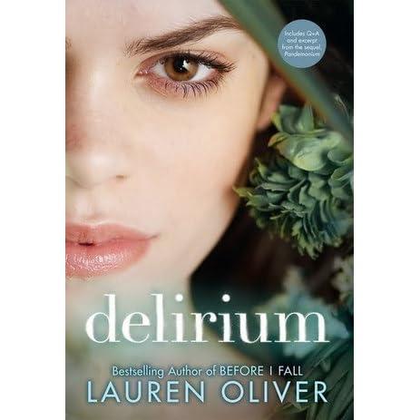 Delirium Delirium 1 By Lauren Oliver