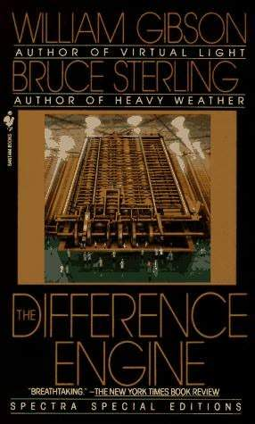 book cover for The Difference Engine