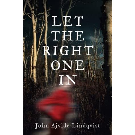 Image result for let the right one in book