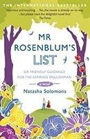 Mr. Rosenblum's List, or, Friendly Guidance for the Aspiring Englishman