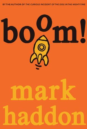 "Book cover of ""Boom!"" by Mark Haddon"