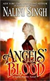 Book cover for Angels' Blood (Guild Hunter, #1)