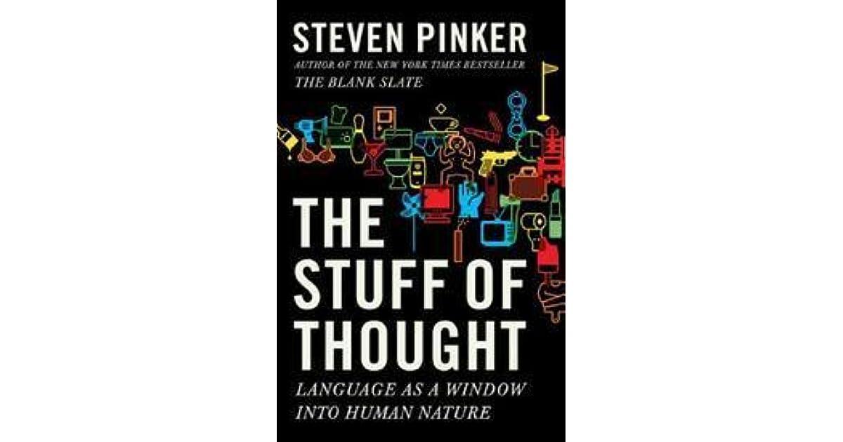 Steven Pinker Stuff Of Thought Pdf