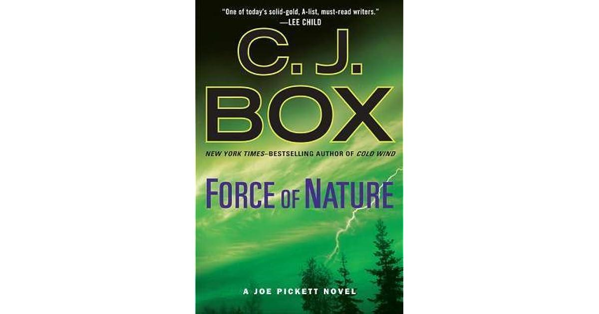Force Of Nature Joe Pickett 12 By Cj Box