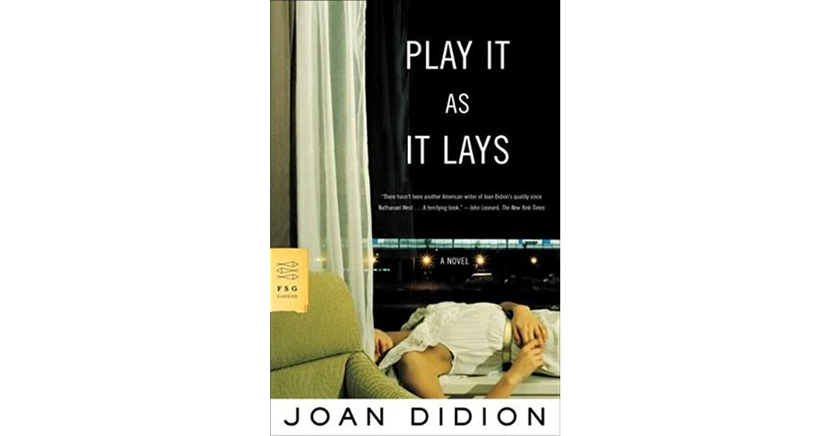 joan didion play it as it lays pdf