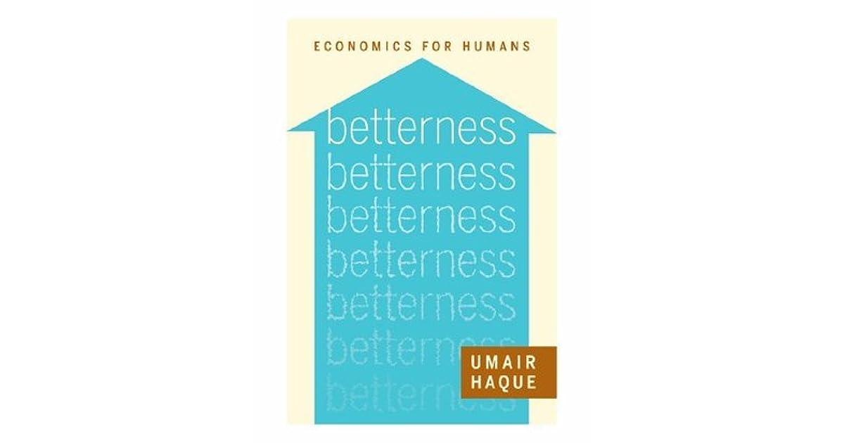 betterness economics for humans pdf