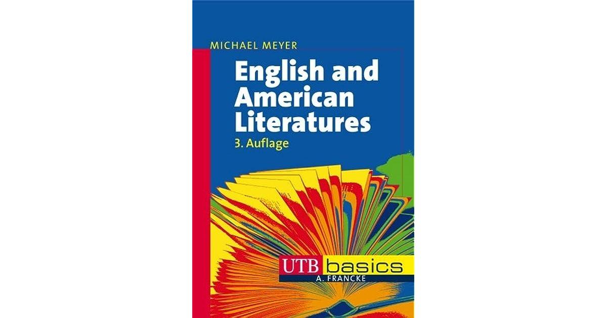 English And American Literature Michael Meyer Pdf Editor - linoaroyal