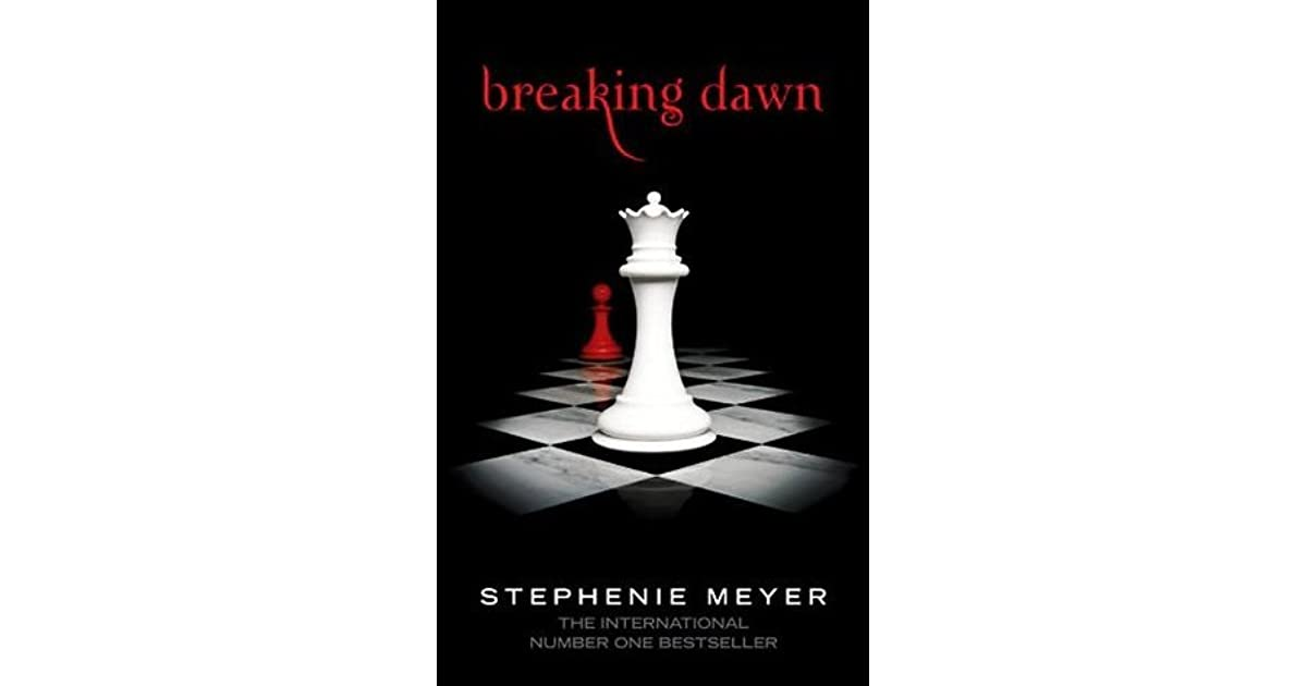an analysis of breaking dawn a novel by stephanie meyer All of the books in meyer's twilight saga have some classical inspiration twilight has some pride and prejudice elements going on new moon is closely tied to romeo and juliet eclipse pays homage.