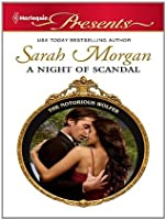 A Night of Scandal (The Notorious Wolfes, #1)