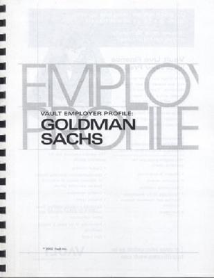 Vep: Goldman Sachs 2003