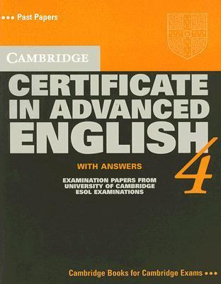 Cambridge Certificate In Advanced English  Examination