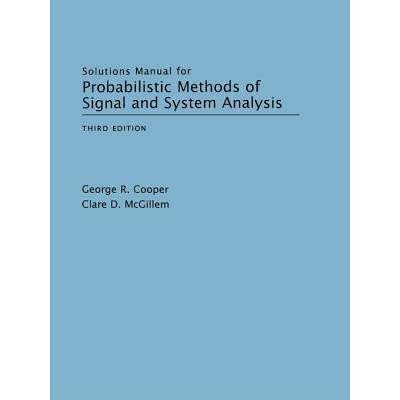 9780195123555: solutions manual for probabilistic methods of.
