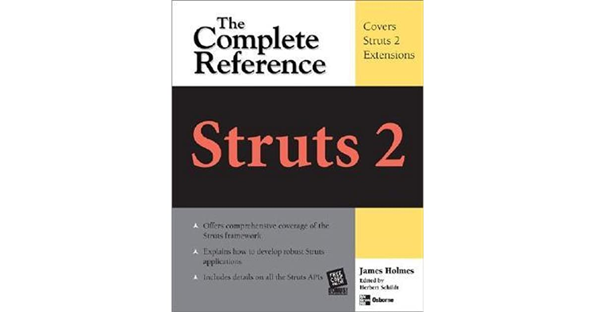 Struts The Complete Reference 2nd Edition Pdf