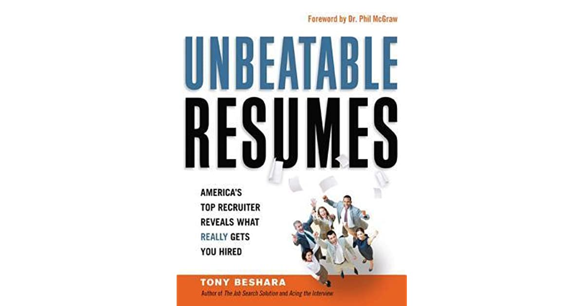 Tony beshara resume