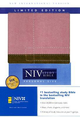 Holy Bible: Zondervan NIV Study Bible, Personal Size Limited Edition