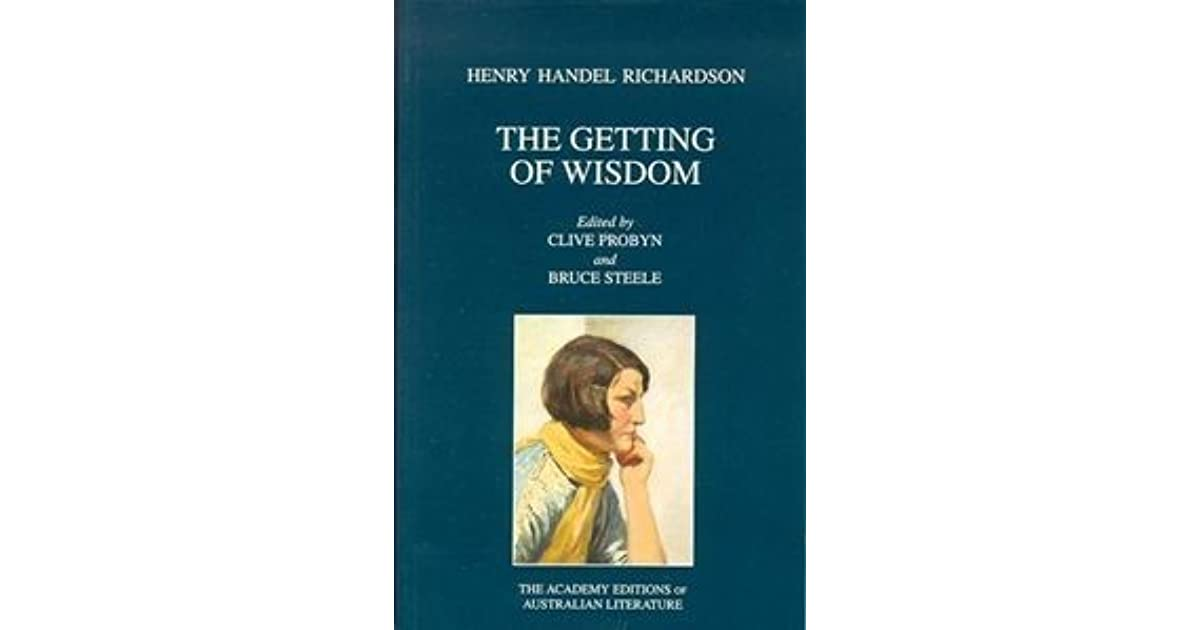 the getting of wisdom analysis