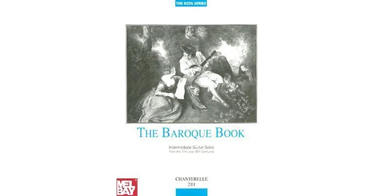 Sheet Music & Song Books Instruction Books, Cds & Video Latest Collection Of Baroque Book Intermediate Guitar Solos